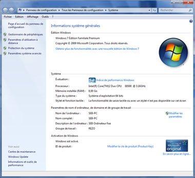 Comment désactiver la restauration système de Windows 7 ?