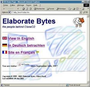 Site de Elaborate Bytes en français