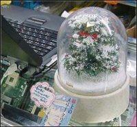 Un sapin de Noel sur port USB
