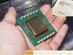 Xeon 1.4 et 1.5 GHz dispo au Japon !