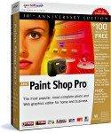 PaintShop Pro 8.0 Bêta 5
