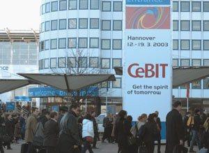 Consulter notre reportage sur le CEBIT 2003