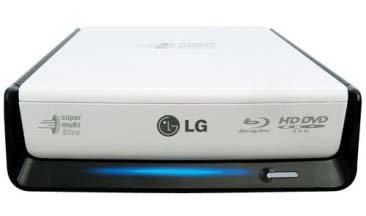 LG dévoile un graveur Blu-ray externe : le BE06