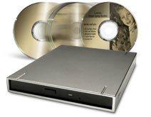 Graveur DVD USB2.0 slim chez LaCie