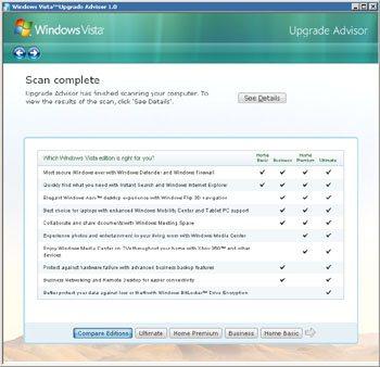 Votre PC est-il compatible Windows Vista ?