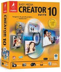 Roxio annonce Easy Media Creator 10