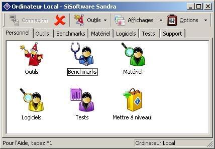 Nouvelle version de SiSoft Sandra 2007
