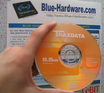 Traxdata DVD+R DL