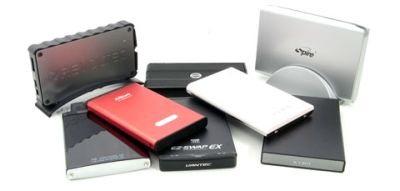 8 boitiers externes pour HDD analysés et comparés