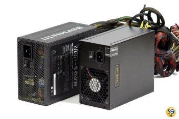 Deux alimentations de 850W et 900W comparées