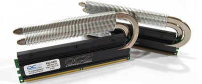 Mémoire OCZ PC2-6400 ReaperX 4Go testée