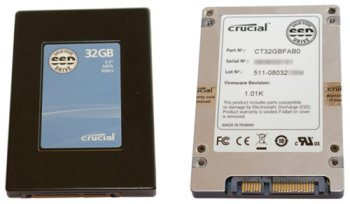 Disque SSD Crucial analysé par Adnpc