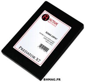 Predator X7 : un SSD Jmicron chez Active Media