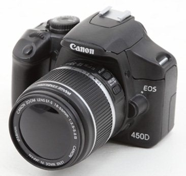 Un vrai faux APN Réflex Canon EOS 450D pour 40 dollars