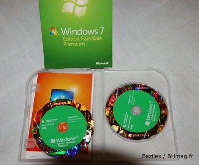 L'un de nos lecteurs a déjà reçu sa précommande de Windows 7