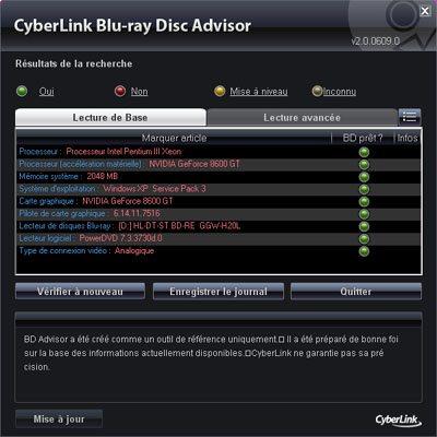 Votre PC est-il compatible HD ? Blu-ray ? BD-Live ?