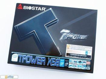 Test de la carte mère Biostar Tpower X58