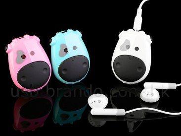 Moo Cow : un baladeur MP3 en forme de vache
