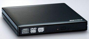 Buffalo : un graveur DVD slim pour netbook