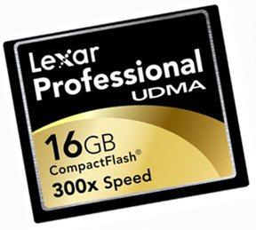 Une Compact Flash très rapide chez Lexar