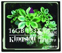 Une Compact Flash de 16Go chez Kingston