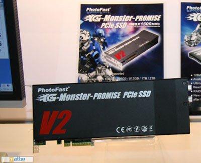 Nouveaux SSD PhotoFast exposés au Computex