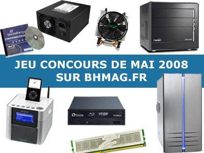 Deuxième Grand Jeu Concours sur BHmag.fr !