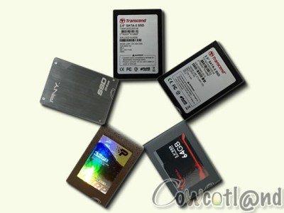 Comparatif : 5 SSD passés au crible sur CowCotLand