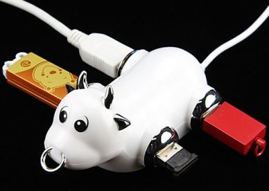 Hub usb: Oh ! la vache …