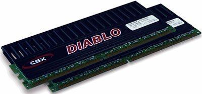 Que vaut le kit mémoire CSX Diablo PC9600 ?