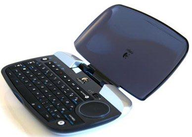 Un clavier pour médiacenter équipé d'un couvercle