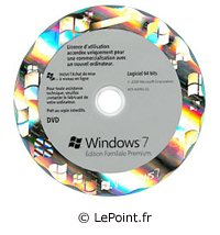 Windows 7 déjà en vente rue Montgallet à Paris