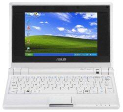 Windows XP préinstallé sur les Asus Eee PC