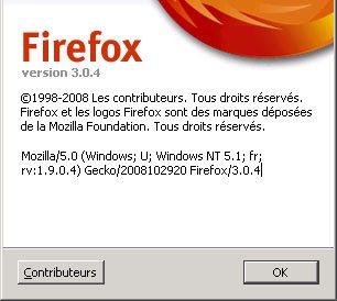 Le navigateur FireFox débarque en version 3.04