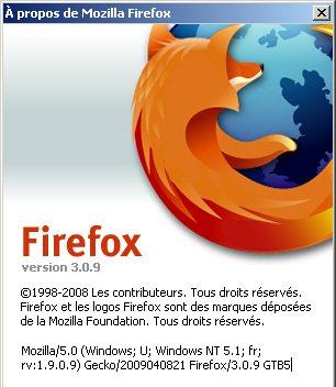 Télécharger FireFox 3.09 : plus stable et sécurisé