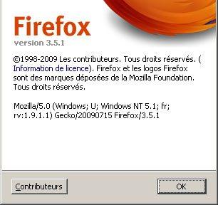 FireFox 3.5.1 est disponible