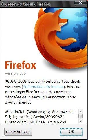 Exclu : FireFox 3.5 final disponible !