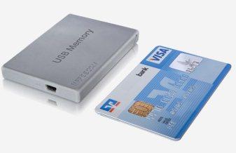 Freecom USB Memory : un disque dur de la taille d'une carte de crédit