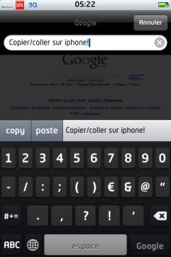 Le copier – coller enfin sur iPhone ! ?