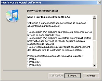 iPhone OS 3.1.2 : jailbreak or not jailbreak ?