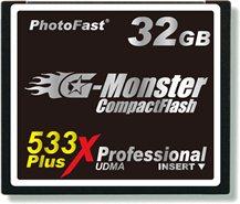 Une Compact Flash très rapide : 80Mo/s !