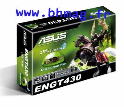 Exclu : les boites et cartes GeForce GT 430 des constructeurs !