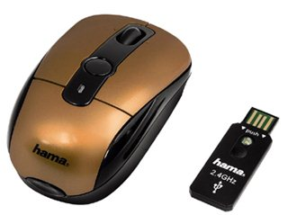 Hama lance une nouvelle souris optique et sans fil