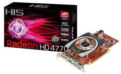 La Radeon HD 4770 se découvre … (annonce, tests, fabricants)