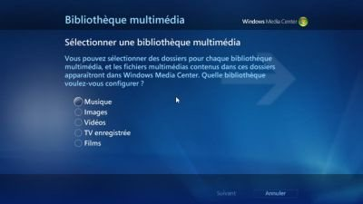 Le MediaCenter de Windows 7 en détails