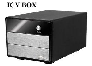 Un boitier externe pour 2 HDD chez IcyBox