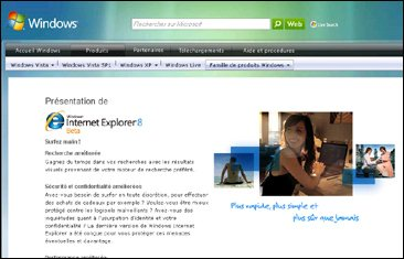 La beta 2 française de Internet Explorer 8 disponible