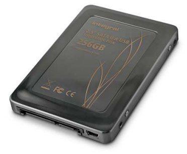 Un SSD à double connectique chez Integral