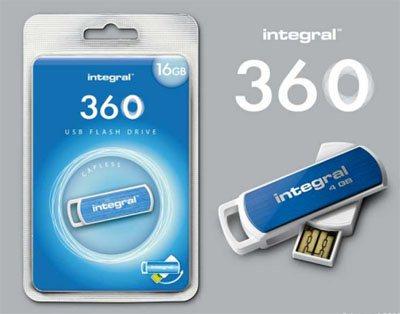 Intégral 360 : une clé usb qui pivote à 360 degrés