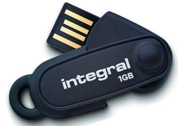 Une clé usb flexible, capless et résistante chez Integral